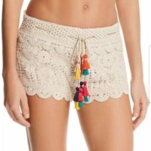 Surf Gypsy Crochet Shorts
